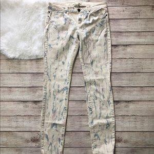 Life in Progress | Paint Splatter Jeans